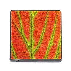 Unique Leaf Memory Card Reader (Square)