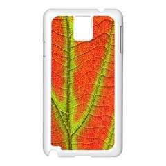 Unique Leaf Samsung Galaxy Note 3 N9005 Case (White)