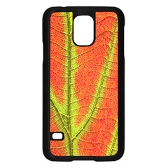 Unique Leaf Samsung Galaxy S5 Case (Black)