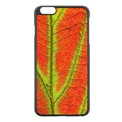 Unique Leaf Apple iPhone 6 Plus/6S Plus Black Enamel Case