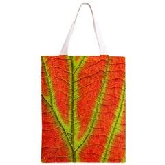 Unique Leaf Classic Light Tote Bag
