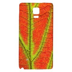 Unique Leaf Galaxy Note 4 Back Case