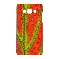 Unique Leaf Samsung Galaxy A5 Hardshell Case