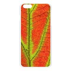 Unique Leaf Apple Seamless iPhone 6 Plus/6S Plus Case (Transparent)