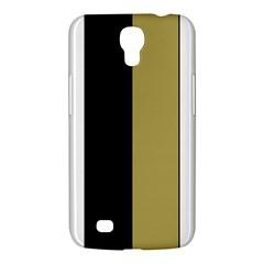 Black Brown Gold White Stripes Elegant Festive Stripe Pattern Samsung Galaxy Mega 6.3  I9200 Hardshell Case
