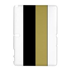 Black Brown Gold White Stripes Elegant Festive Stripe Pattern Galaxy Note 1
