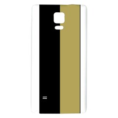 Black Brown Gold White Stripes Elegant Festive Stripe Pattern Galaxy Note 4 Back Case