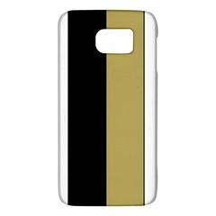 Black Brown Gold White Stripes Elegant Festive Stripe Pattern Galaxy S6