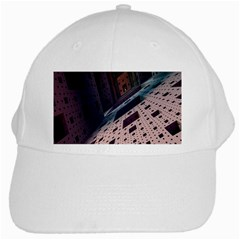 Industry Fractals Geometry Graphic White Cap