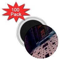 Industry Fractals Geometry Graphic 1.75  Magnets (100 pack)