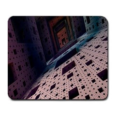 Industry Fractals Geometry Graphic Large Mousepads