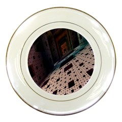Industry Fractals Geometry Graphic Porcelain Plates