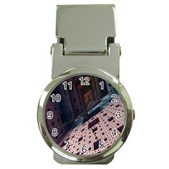 Industry Fractals Geometry Graphic Money Clip Watches