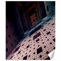 Industry Fractals Geometry Graphic Canvas 8  x 10