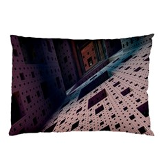 Industry Fractals Geometry Graphic Pillow Case