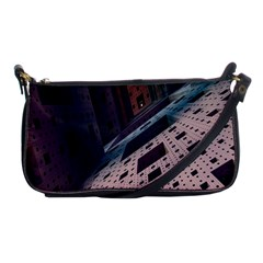 Industry Fractals Geometry Graphic Shoulder Clutch Bags