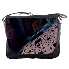 Industry Fractals Geometry Graphic Messenger Bags