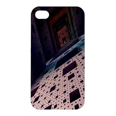 Industry Fractals Geometry Graphic Apple iPhone 4/4S Premium Hardshell Case
