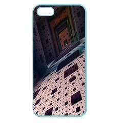 Industry Fractals Geometry Graphic Apple Seamless iPhone 5 Case (Color)