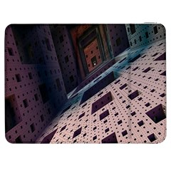 Industry Fractals Geometry Graphic Samsung Galaxy Tab 7  P1000 Flip Case