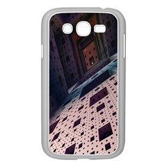 Industry Fractals Geometry Graphic Samsung Galaxy Grand DUOS I9082 Case (White)