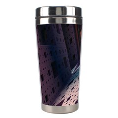 Industry Fractals Geometry Graphic Stainless Steel Travel Tumblers