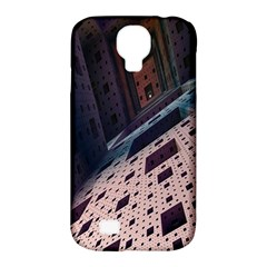 Industry Fractals Geometry Graphic Samsung Galaxy S4 Classic Hardshell Case (PC+Silicone)