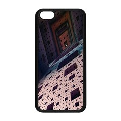 Industry Fractals Geometry Graphic Apple iPhone 5C Seamless Case (Black)