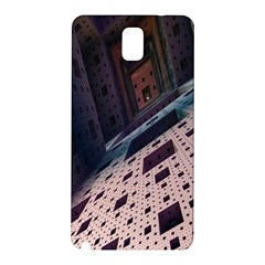 Industry Fractals Geometry Graphic Samsung Galaxy Note 3 N9005 Hardshell Back Case
