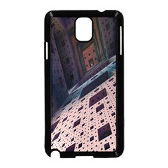 Industry Fractals Geometry Graphic Samsung Galaxy Note 3 Neo Hardshell Case (Black)