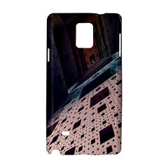 Industry Fractals Geometry Graphic Samsung Galaxy Note 4 Hardshell Case