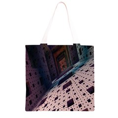 Industry Fractals Geometry Graphic Grocery Light Tote Bag