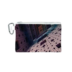 Industry Fractals Geometry Graphic Canvas Cosmetic Bag (S)