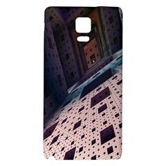 Industry Fractals Geometry Graphic Galaxy Note 4 Back Case