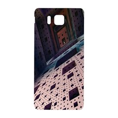 Industry Fractals Geometry Graphic Samsung Galaxy Alpha Hardshell Back Case