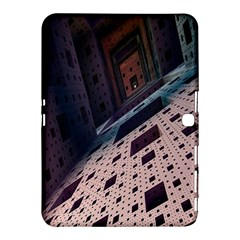 Industry Fractals Geometry Graphic Samsung Galaxy Tab 4 (10.1 ) Hardshell Case