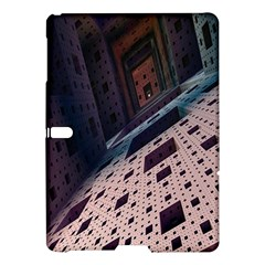 Industry Fractals Geometry Graphic Samsung Galaxy Tab S (10.5 ) Hardshell Case