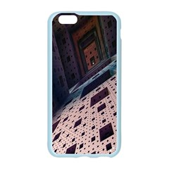 Industry Fractals Geometry Graphic Apple Seamless iPhone 6/6S Case (Color)