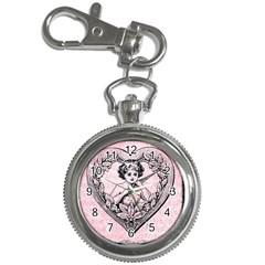 Heart Drawing Angel Vintage Key Chain Watches