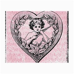 Heart Drawing Angel Vintage Small Glasses Cloth (2-Side)