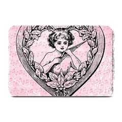 Heart Drawing Angel Vintage Plate Mats