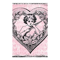 Heart Drawing Angel Vintage Shower Curtain 48  x 72  (Small)