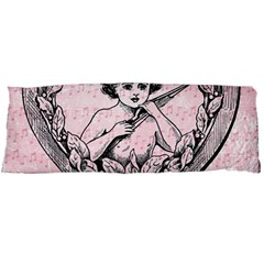 Heart Drawing Angel Vintage Body Pillow Case (Dakimakura)