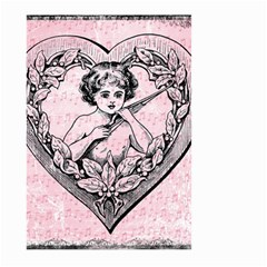 Heart Drawing Angel Vintage Large Garden Flag (Two Sides)