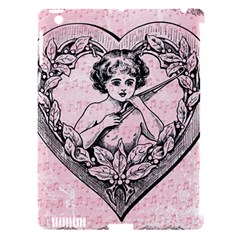 Heart Drawing Angel Vintage Apple iPad 3/4 Hardshell Case (Compatible with Smart Cover)