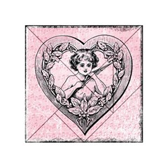 Heart Drawing Angel Vintage Acrylic Tangram Puzzle (4  x 4 )