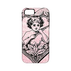 Heart Drawing Angel Vintage Apple iPhone 5 Classic Hardshell Case (PC+Silicone)