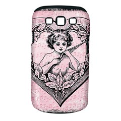 Heart Drawing Angel Vintage Samsung Galaxy S III Classic Hardshell Case (PC+Silicone)