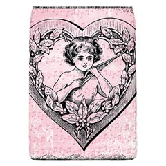 Heart Drawing Angel Vintage Flap Covers (L)