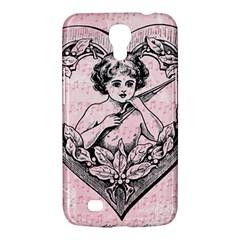 Heart Drawing Angel Vintage Samsung Galaxy Mega 6.3  I9200 Hardshell Case